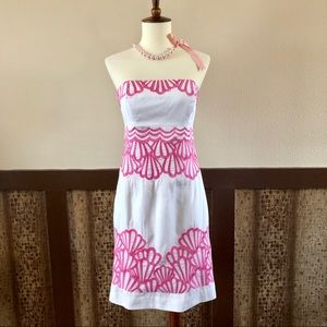 Lilly Pulitzer Bowen Dress Why the Shell Not: NEW!